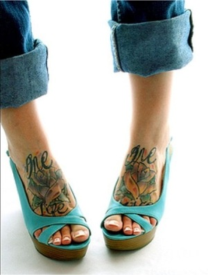 tattoo feet